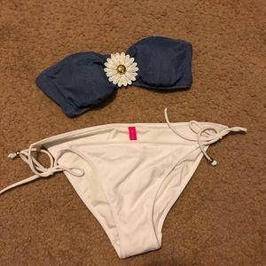 Victoria Secret's 2 piece daisy bikini